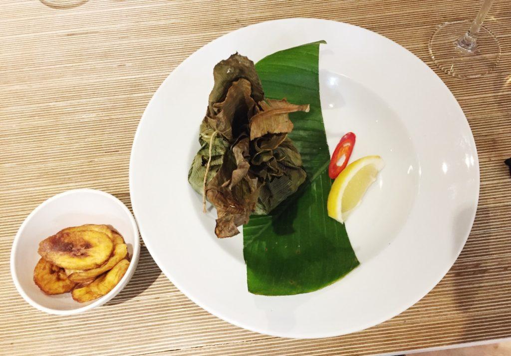 Congolese food Liboké